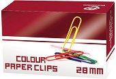 Цветни кламери - Комплект от 50 броя