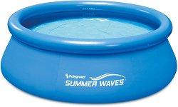 Кръгъл надуваем басейн - Summer Waves Quick Set - продукт