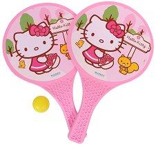 Хилки за плажен тенис - Hello Kitty -