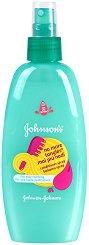 Johnson's Kids No More Tangles Spray - Спрей за деца за лесно разресване на косата -