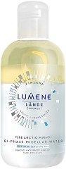 "Lumene Lаhde Pure Arctic Bi-Phase Micellar Water - Двуфазна мицеларна вода от серията ""Lahde"" - олио"