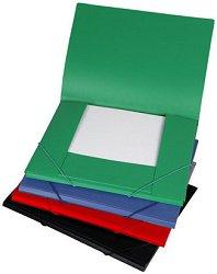 Папки с ластик - Комплект от 6 броя формат А4