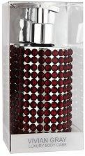 Vivian Gray Precious Red Soap - Течен сапун в диспенсър с червени кристали -