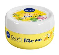 """Nivea Soft Mix Me Happy Exotic Moisturizing Cream - Хидратиращ крем за лице и тяло с аромат на тропически плодове от серията """"Mix me"""" -"""