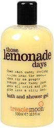 Treaclemoon Those Lemonade Days Bath & Shower Gel - Душ гел и пяна за вана в едно с аромат на лимон - шампоан