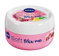 Nivea Soft Mix Me Berry Charming Moisturizing Cream - Хидратиращ крем за лице и тяло с аромат на сочни плодове - продукт