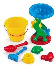 Комплект за игра с пясък - Детски играчки -