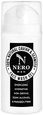 Nero 100% Natural Caviar & Seaweed Face Wash Gel - Мъжки почистващ гел за лице с натурални съставки -
