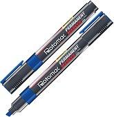 Перманентни маркери със скосен връх 2.5 mm - Комплект от 10 броя