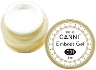 Canni GD Coco Emboss Gel - Гел-паста за релефен маникюр - душ гел