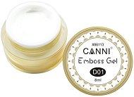 Canni GD Coco Emboss Gel - Гел-паста за релефен маникюр - спирала
