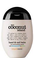 Treaclemoon My Coconut Island Hand & Nail Balm - Балсам за ръце и нокти с макадамия, череша и аромат на кокос - крем