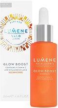 """Lumene Valo Glow Boost Essence - Есенция с витамин C и хиалуронова киселина от серията """"Valo"""" - продукт"""