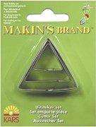 Метални формички за моделиране - Триъгълници - Комплект от 3 броя