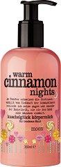 Treaclemoon Warm Cinnamon Nights Body Lotion - Лосион за тяло с аромат на канела за суха кожа - гланц