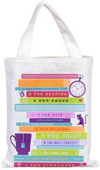 Текстилна чанта за книги - Read Me -