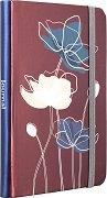 Тефтер - Нежни цветя - Формат А6