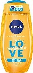 Nivea Love Sunshine Shower Gel - Душ гел с летен аромат - продукт