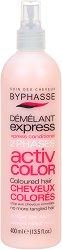 Byphasse Xpress Conditioner Active Color For Coloured Hair - Спрей балсам без отмиване за боядисана коса -