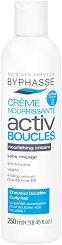 Byphasse Activ Boucles Nourishing Cream For Curly Hair - Подхранващ крем без отмиване за оформяне на къдрава коса - продукт