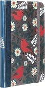 Тефтер - Птици и цветчета - Формат А6
