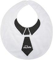 Лигавник - Вратовръзка - За бебета от 2 до 7 месеца -