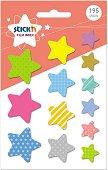 Самозалепващи индекси - Звезди - Комплект от 195 броя
