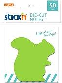 Самозалепващи листчета - Катерица - Комплект от 50 листчета с размери 6 x 6.2 cm