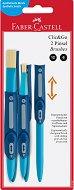 Плоски четки за рисуване - Clic & Go - Комплект от 2 броя