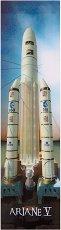 """3D книгоразделител - Ракета """"Ariane V"""" -"""