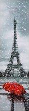 3D книгоразделител - Paris in Red -