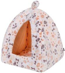 Trixie Lingo Cuddly Cave - Къщичка за дребни кучета тип хралупа с размери 32 / 42 / 32 cm -