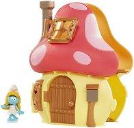 """Къщата на Смърфиета - Комплект за игра от серията """"Смърфовете"""" - играчка"""