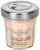 Blancreme Souffle Body Cream With Mango & Passion Fruit - Крем за тяло с манго и маракуя в стъклено бурканче - тампони