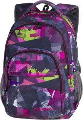 Ученическа раница - Basic Plus: Pink Abstract - раница