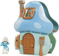 """Къщичката на Брейни - Комплект за игра от серията """"Смърфовете"""" -"""