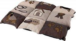 Trixie Patchwork Blanket - Легло за кучета тип постелка -