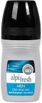 Alpi Fresh Men Deo Roll-On 48h Anti-Perspirant - Ролон дезодорант за мъже против изпотяване -