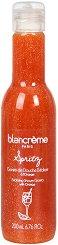 Blancreme Exfoliating Shower Gel Spritz - маска
