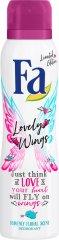 Fa Lovely Wings Deodorant - Дезодорант с аромат на цветя -