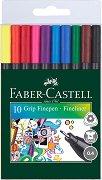 Цветни тънкописци - Grip - Комплект от 10 или 20 цвята