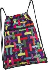 Спортна торба - Shoe Bag: Ribbon Grid -