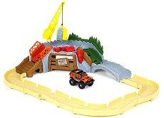 Tonka - Ripsaw Summit - Комплект писта и джип - играчка