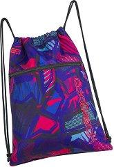 Спортна торба - Shoe Bag: Crazy Pink Abstract -