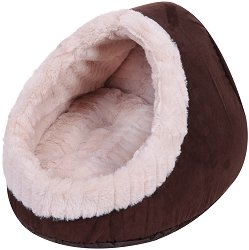 Trixie Timur Cuddly Cave - Къщичка за дребни кучета тип хралупа с размери 35 / 26 / 41 cm -
