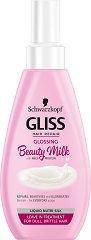 Gliss Glossing Beauty Milk - Mляко за коса за блясък без изплакване -