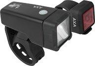 AXA Niteline T1 - Комплект от предна и задна светлина