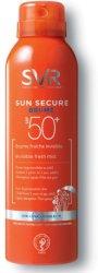 """SVR Sun Secure Brume - SPF 50+ - Невидим слънцезащитен спрей с освежаващ ефект от серията """"Sun Secure"""" -"""