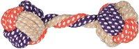 Плетен дъмбел - Играчка за кучета - гребен