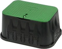 Правоъгълна защитна кутия с капак